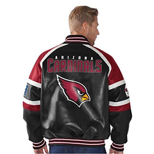 G-III Sports Arizona Cardinals P-leather Full-zip Jacket
