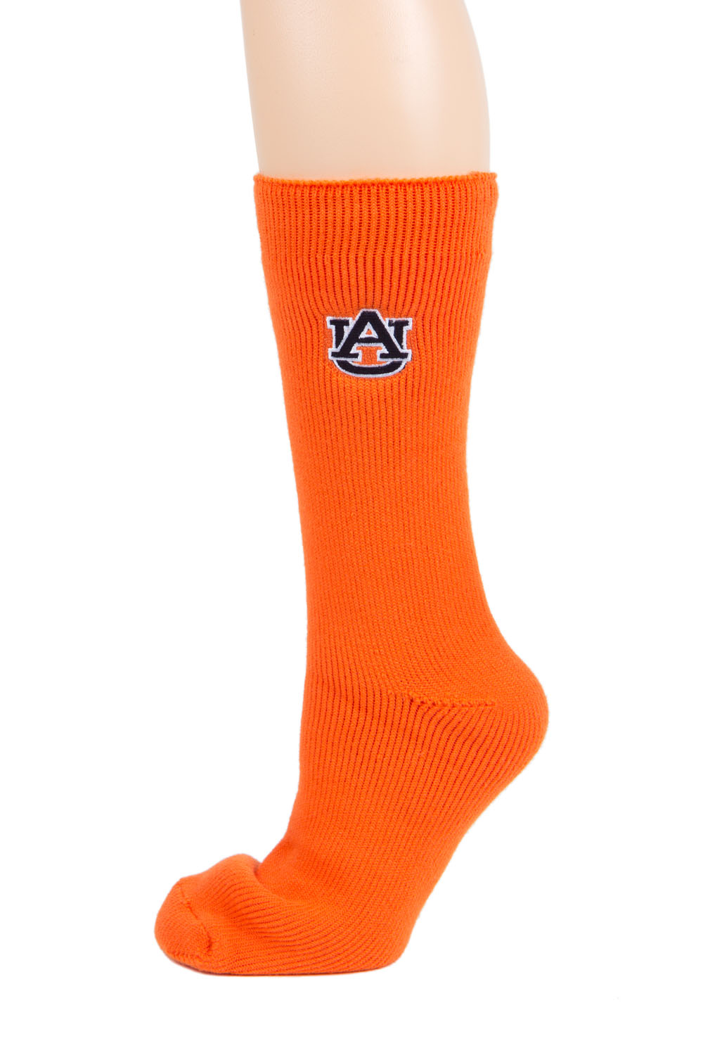 Auburn Tigers Orange Thermal Sock by Donegal Bay