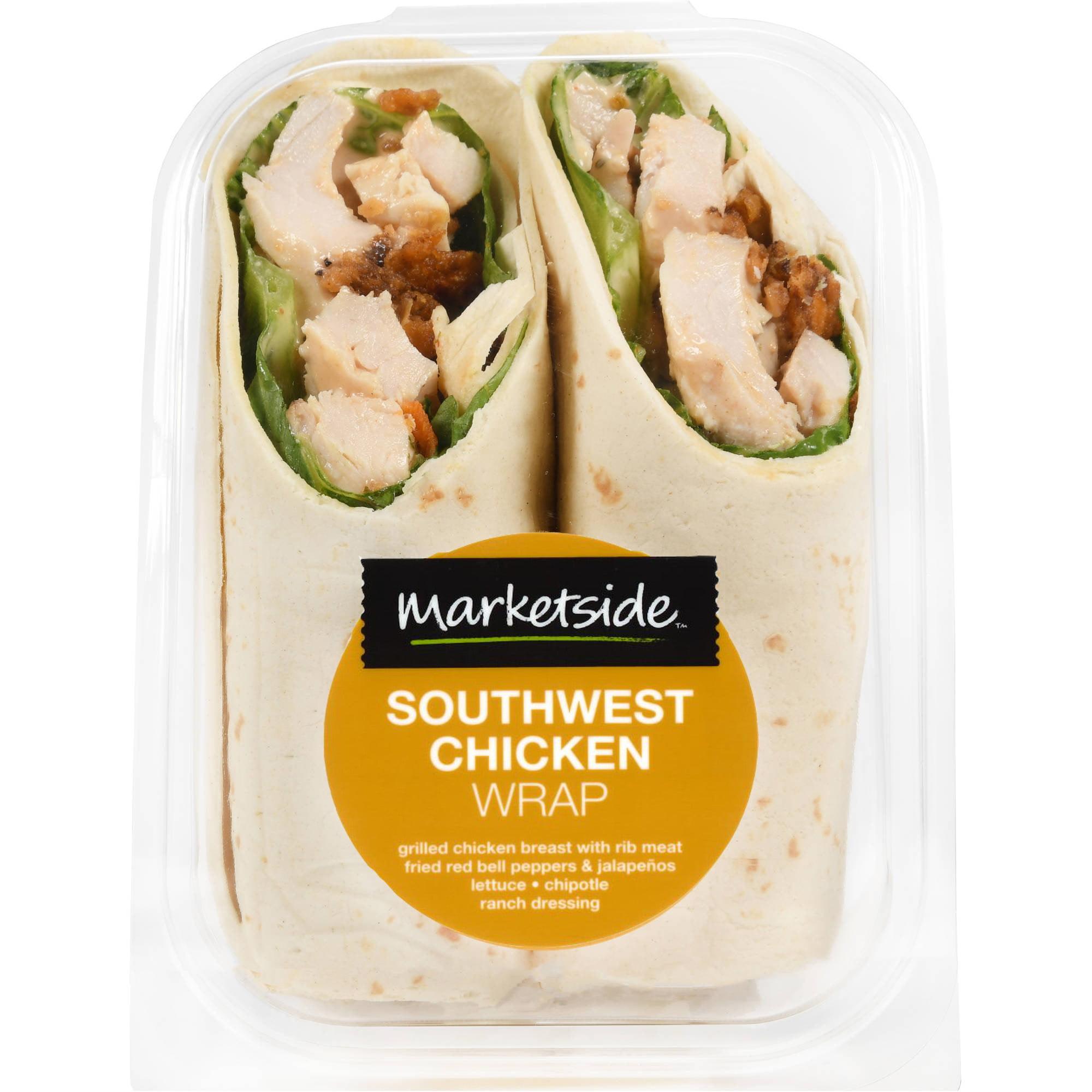 Marketside Southwest Chicken Wrap