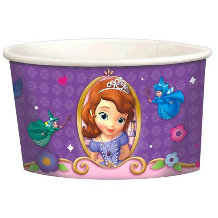 Sofia the First Ice Cream Cups (8ct)](Ice Cream Cups Paper)