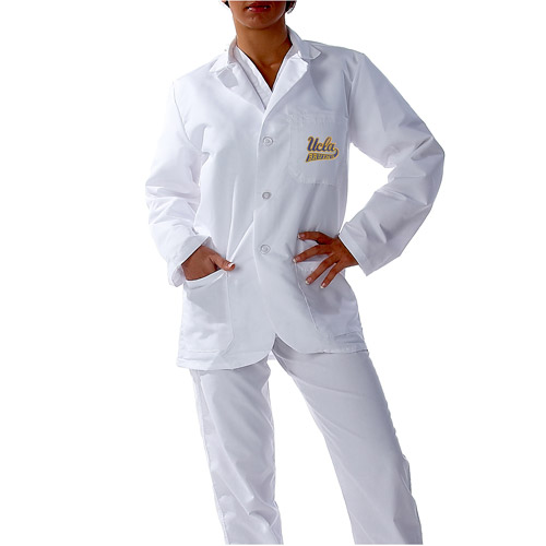 NCAA Pac 12 - Short White Labcoat