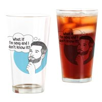 CafePress Sexy And I Don't Know It Pint Glass, Drinking Glass, 16 oz. CafePress