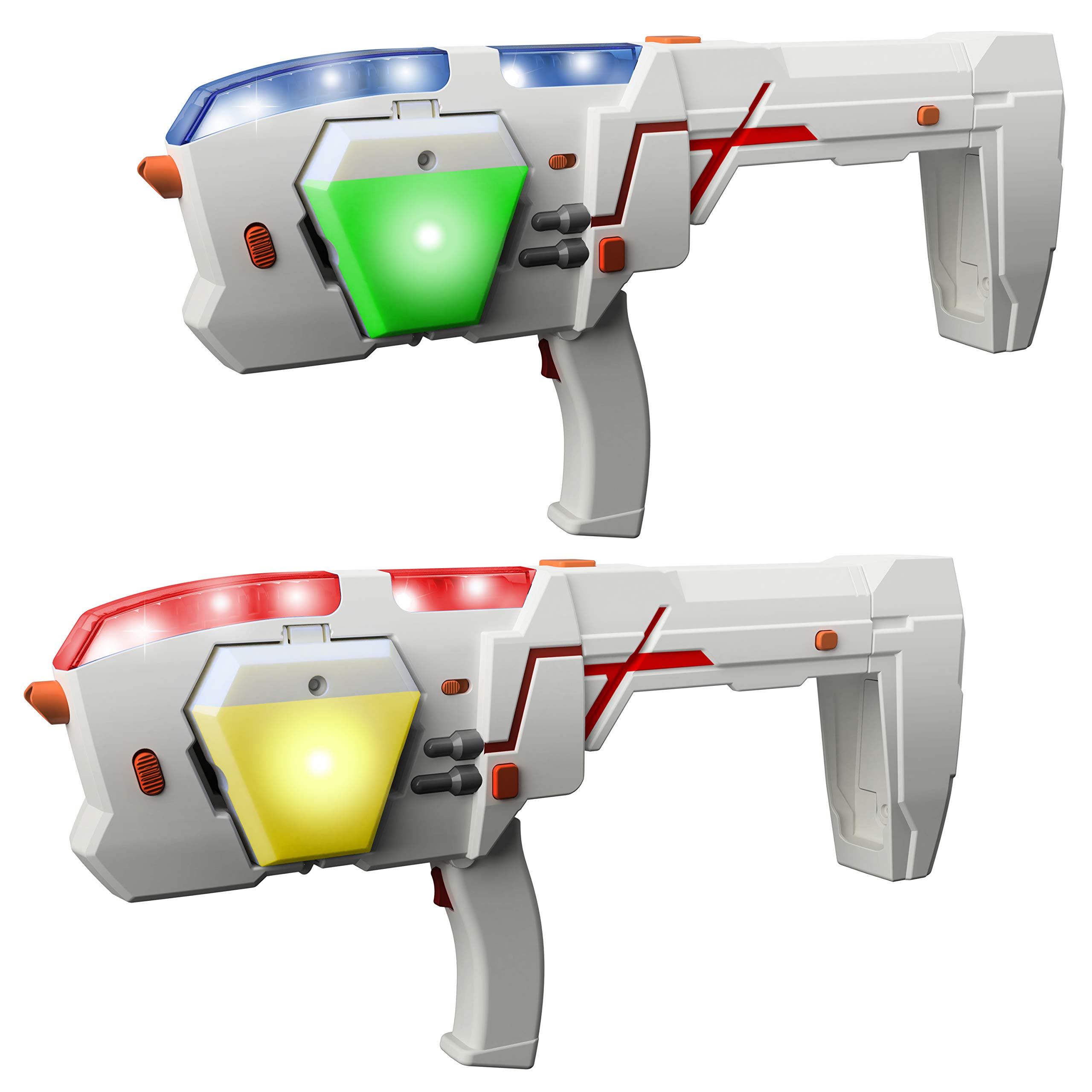 Laser X 88042 Morph Double Pack with 2 Laser Blasters Refurbished