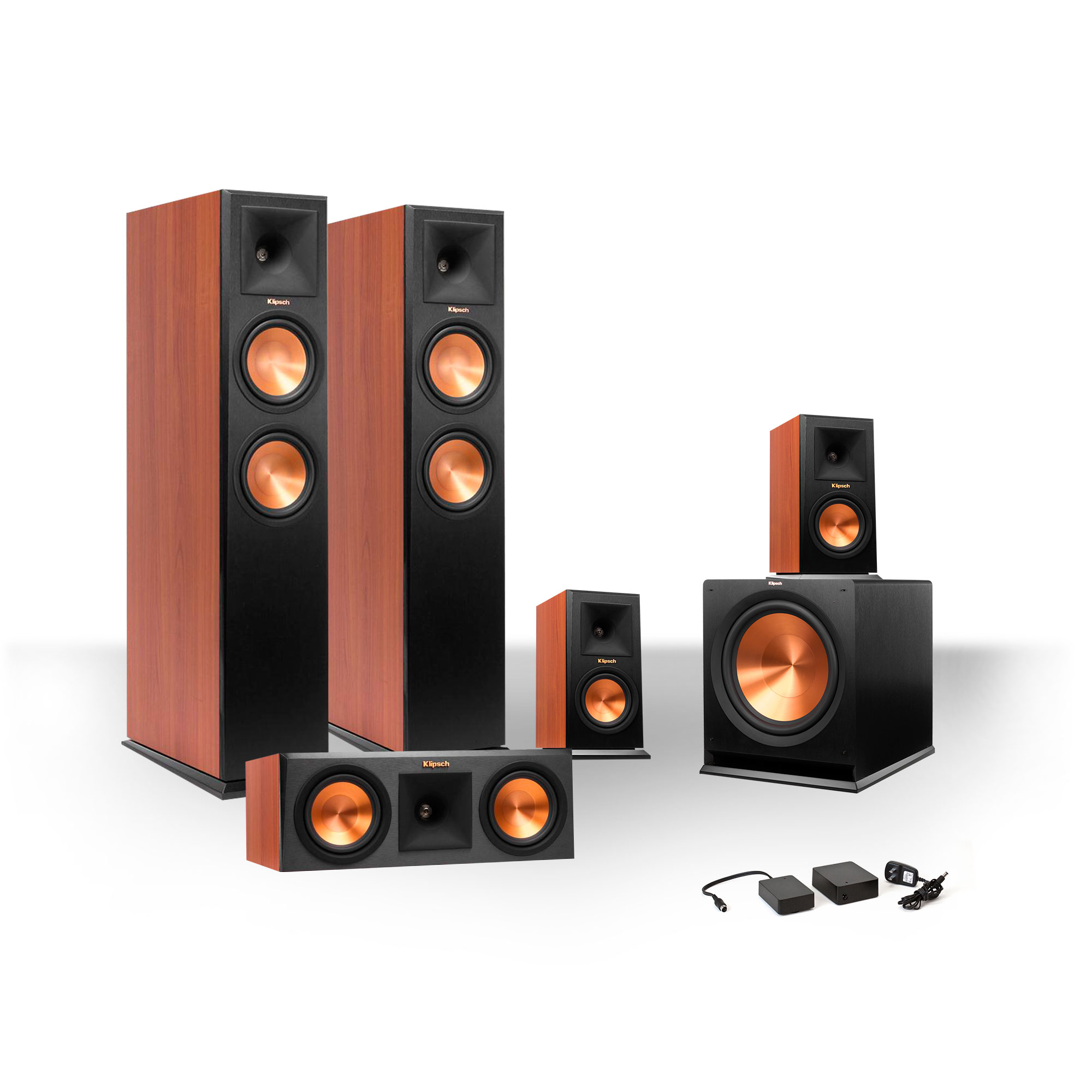 Klipsch 5.1 RP-250 Reference Premiere Speaker Package with R-110SW Subwoofer and FREE Wireless Kit by Klipsch