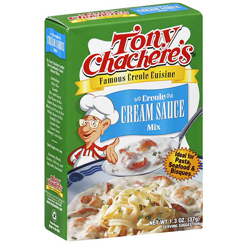 Tony Chachere's Famous Creole Cuisine Creole Cream Sauce Mix, 1.3 oz (Pack of 12)