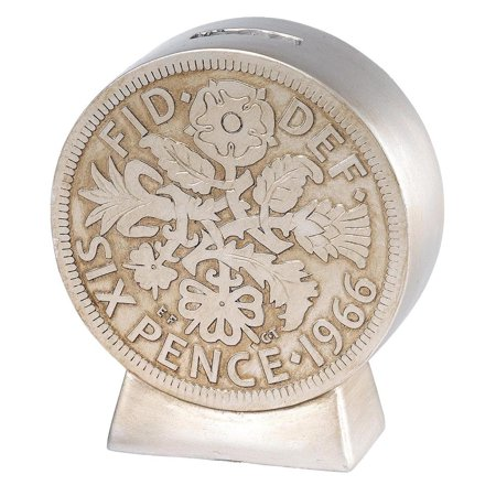 Sixpence Money Bank