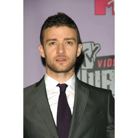 Justin Timberlake In The Press Room For Mtv 2007 Vmas Video Music Awards-Press Room Palms Casino Las Vegas Nv September 09 2007 Photo By Dee CerconeEverett Collection Celebrity