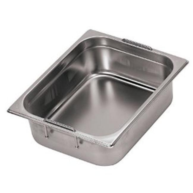 World Cuisine 14152-10 Stainless-steel Hotel Pan with Retractable Handles - 1/1