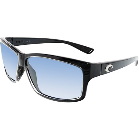 176e1e0e86fd9 ... Ut 47 Cut Squall Square Sunglasses For Mens UPC 097963498913 product  image for Costa Del Mar Cut UT47OGP Black Rectangle Sunglasses