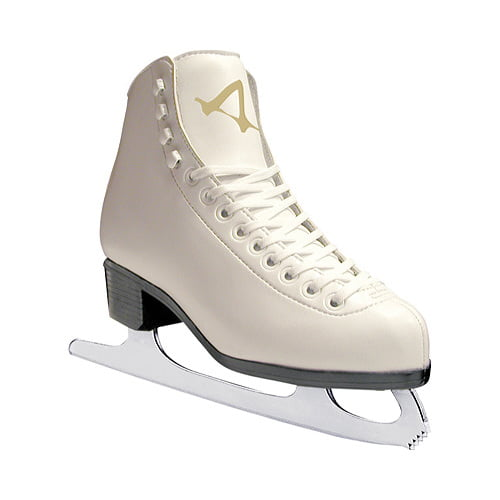 American Women's Leather-Lined Ice Skates by