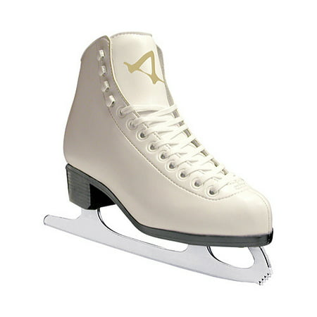 American Athletic Women's Leather-Lined Ice (Leather Womens Ice Skates)