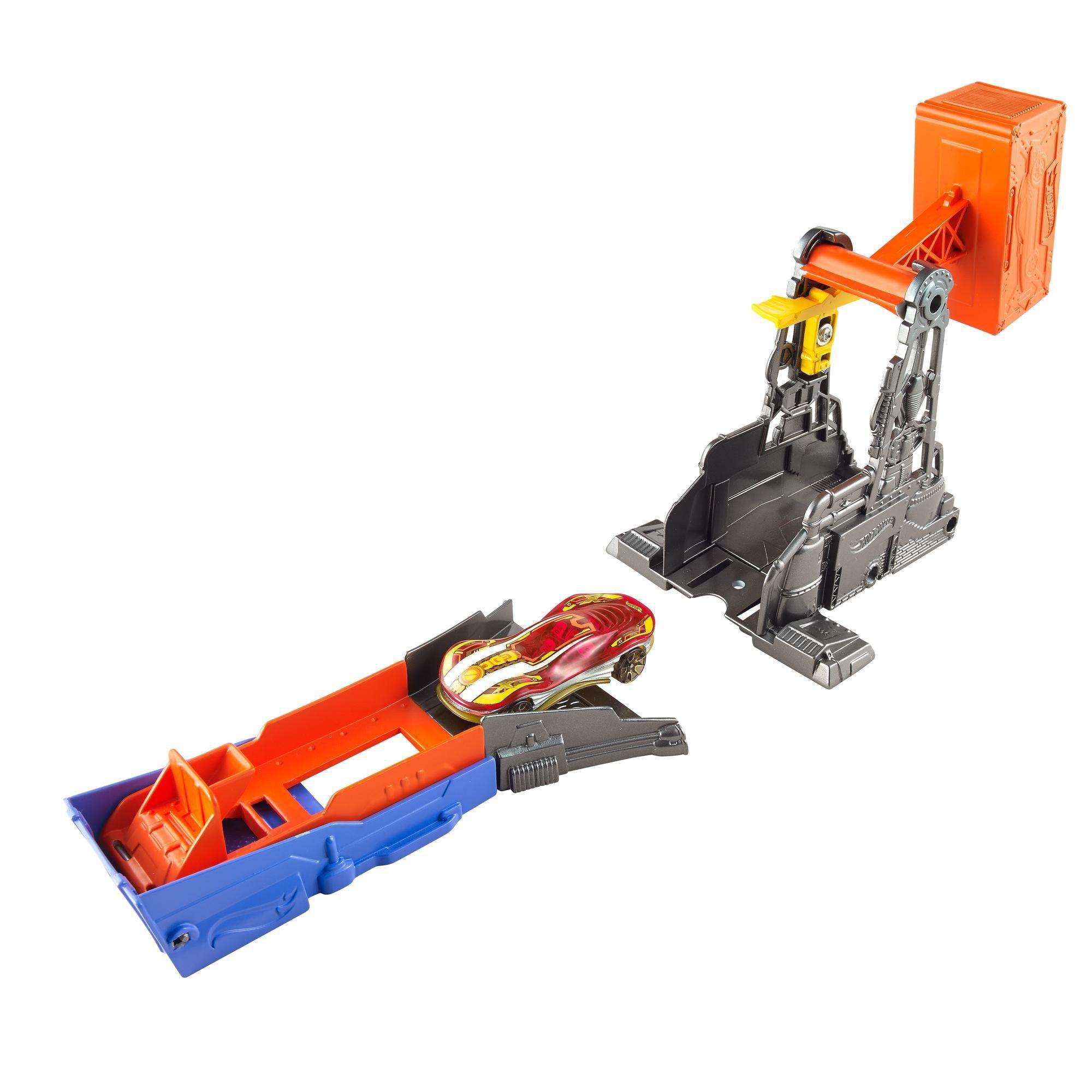Hot Wheels Hammer Blast Track Set by Mattel Toys