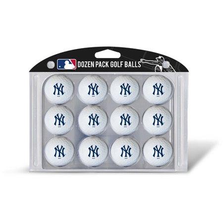 Team Golf New York Yankees Golf Balls, 12 Pack