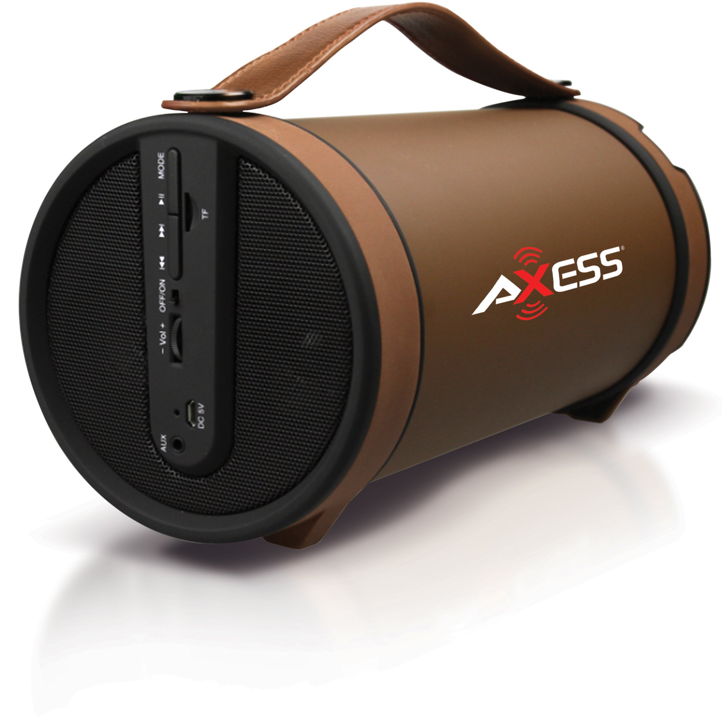 Axess Bluetooth Media Speaker with USB, SD, FM Radio