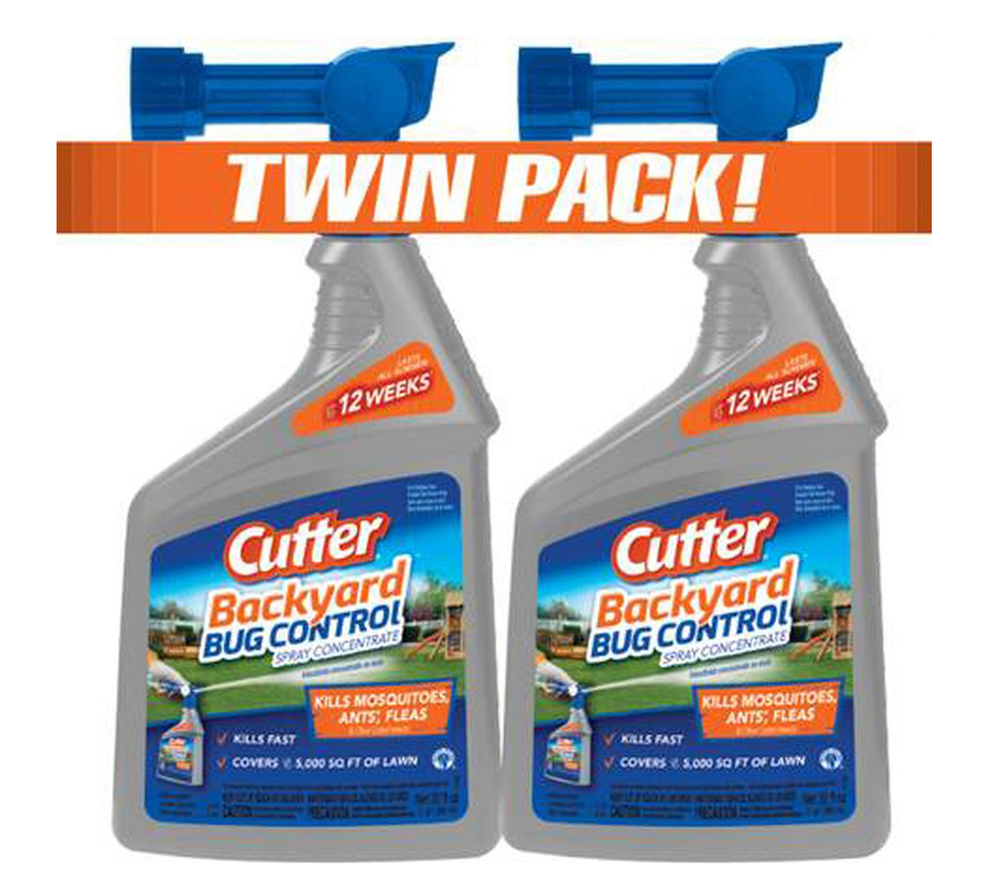 Cutter 32-Oz. Backyard Bug Control Spray Concentrate, 2 pk ...