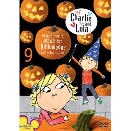 Charlie and Lola: Volume 9: What Can I Wear for Halloween? (DVD) - Halloween Films For Family
