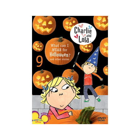 Charlie and Lola: Volume 9: What Can I Wear for Halloween? (DVD) - Gospel Tracts For Halloween