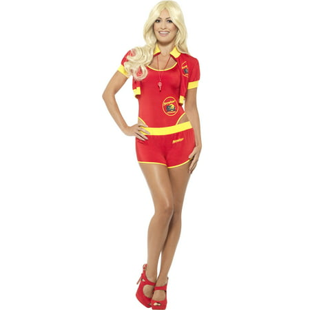 Baywatch Lifeguard Costume Women's - Baywatch Halloween Costume