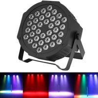 LYUMO 4PCS LED Stage Lights, 36W RGB DMX512 Party Bar DJ Stage Light 36 LEDs Club Wedding Stage Lamp with Remote Control 110V US Plug