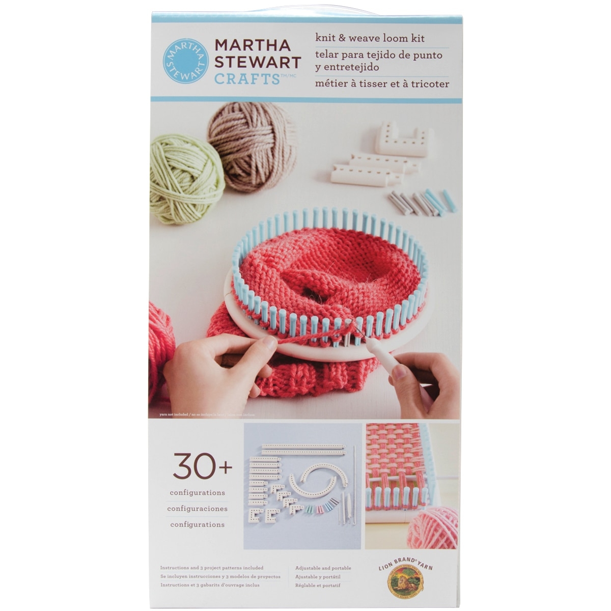 Martha Stewart Crafts Knit & Weave Loom- - Walmart.com