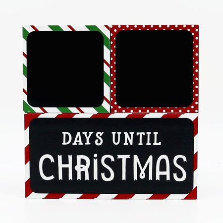 Tiny Ideas Countdown to Christmas Photo Sharing Chalkboard Blocks ()