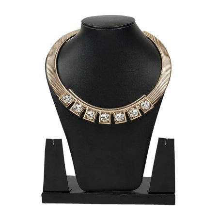 Stylish Rhinestone Studded Necklace By - Stud Choker