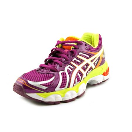 Asics Gel-Nimbus 15 Gs Youth Girls Size 5.5 Purple Mesh Running Shoes -  Walmart.com 317dff623