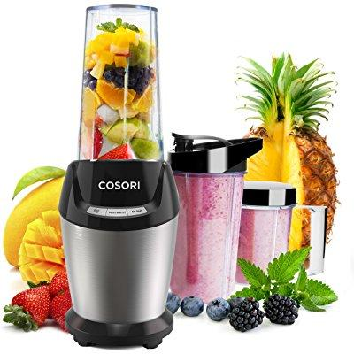 cosori smoothie blender small personal juicer, mini single serve food fruit maker