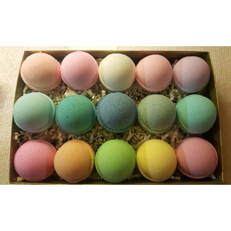 Bay Shower Ideas (100 BATH BOMBS Wholesale - USA Made Organic & Natural Fizzies Fun Bridal or Baby Shower Favors. Buy Bulk & Save. Makes a Unique Relaxing Gift)