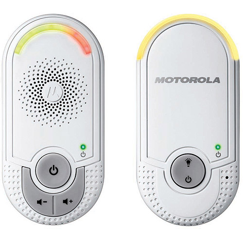 Motorola MBP8 Digial Plug and Play Audio Baby Monitor with 1.8GHz DECT technology