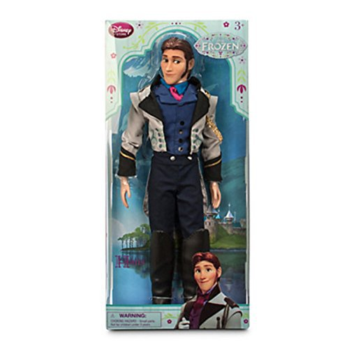 "Disney Frozen Exclusive 12"" Classic Doll Hans"