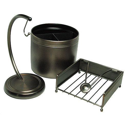 Canopy Brushed Bronze Pantry Set