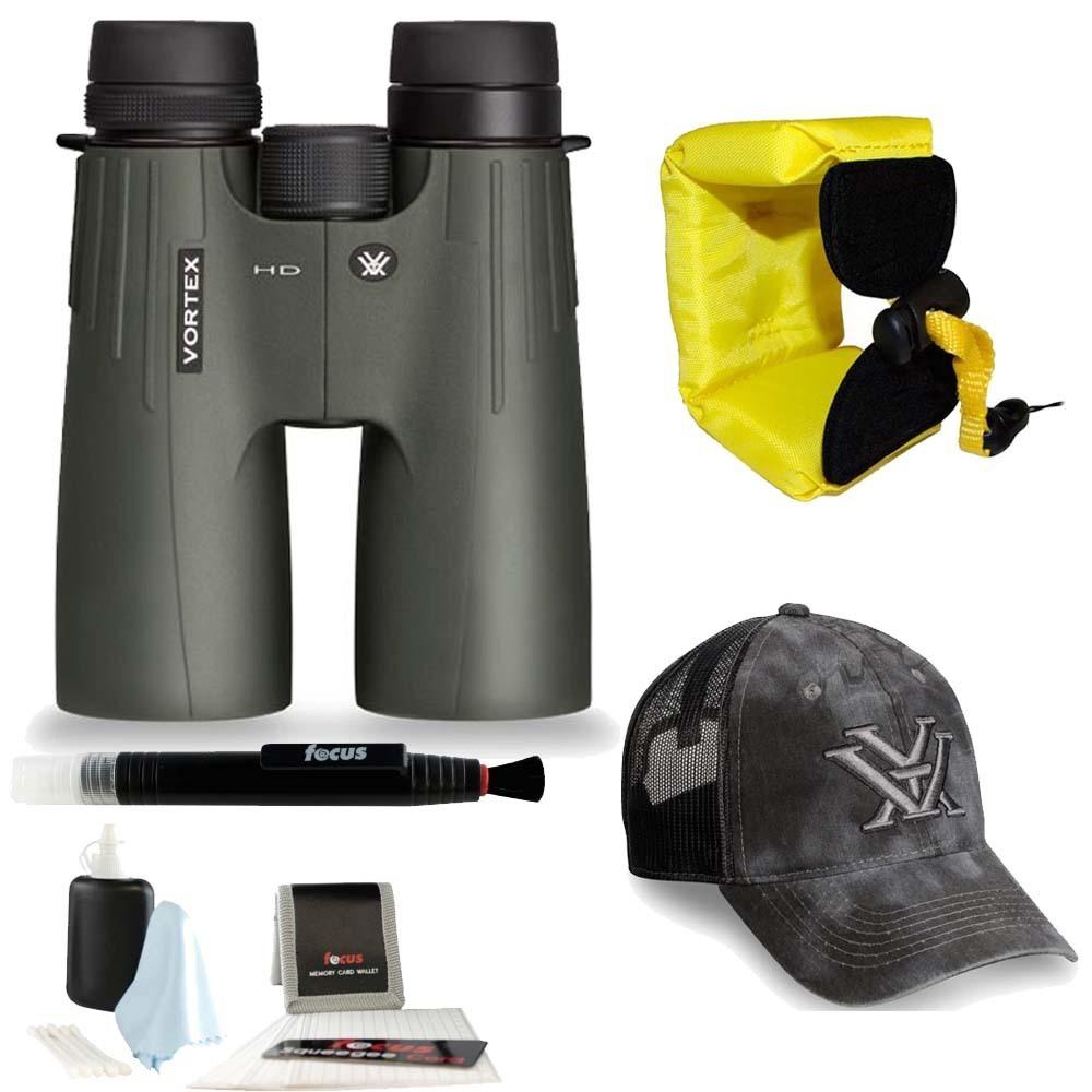 Vortex 12x50 Viper HD Binocular + Foam Float Strap + Accessory Kit by Vortex Optics