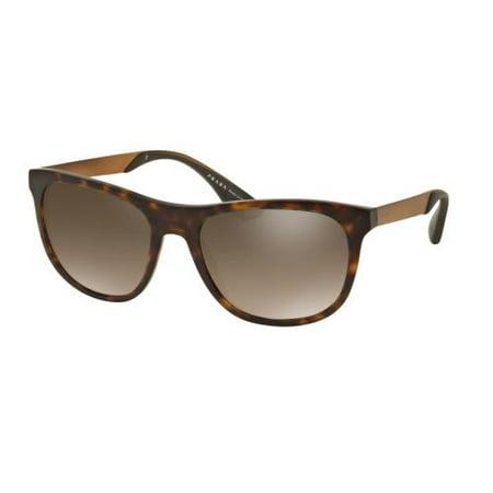 47fb3a193dbf9 Prada - PRADA Sunglasses PR 04SS HAQ4O2 Matte Havana 57MM - Walmart.com