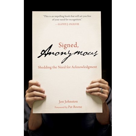 Signed, Anonymous - eBook