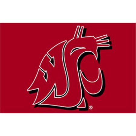 Washington State Cougars 20 X30  Tufted Rug