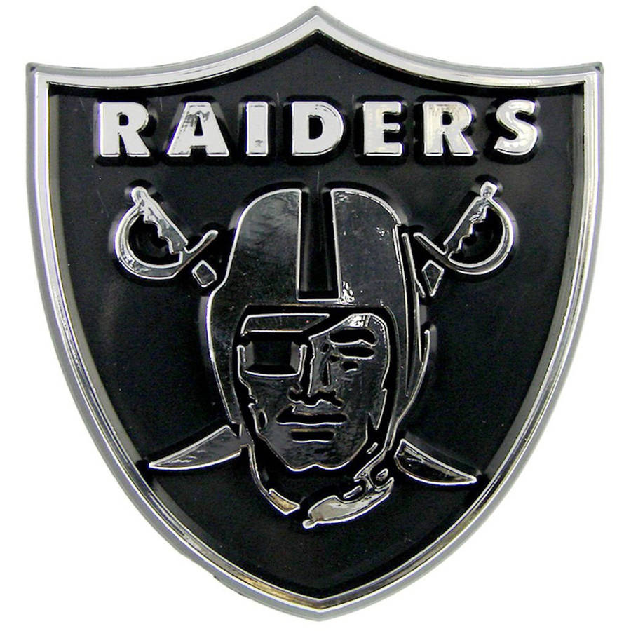 NFL Oakland Raiders Chrome Automobile Emblem