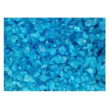 BAYSIDE CANDY ROCK CANDY CRYSTALS BLUE RASPBERRY, 1LB](Crystal Rock Candy)