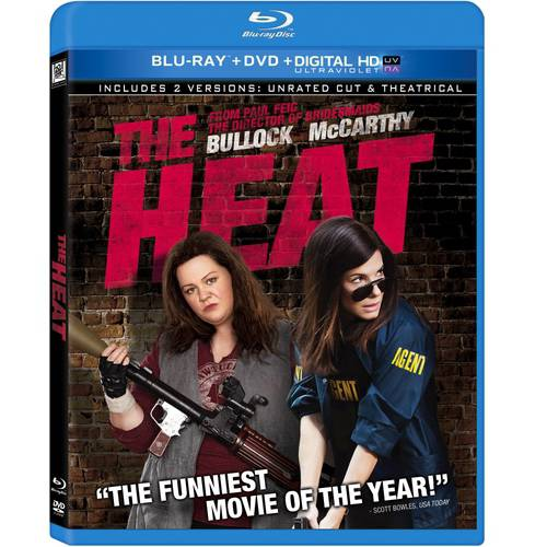 The Heat (Rated/Unrated) (Blu-ray + DVD + Digital HD) (With INSTAWATCH) (Widescreen)