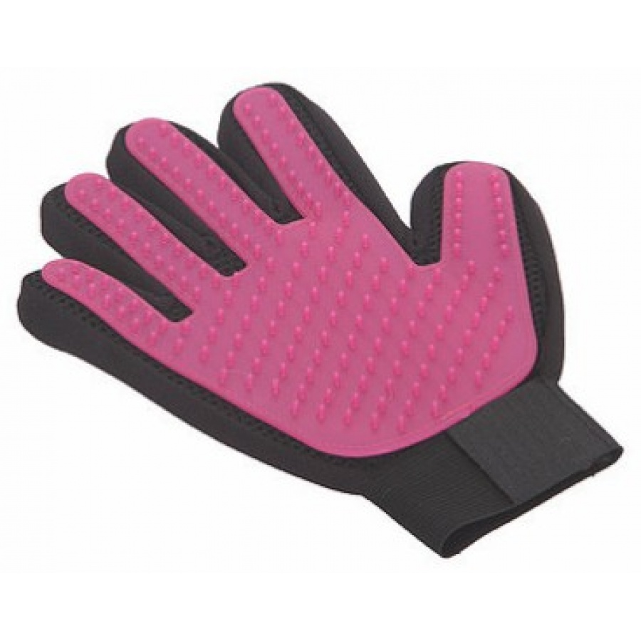 Pet Pals Pink Cat's Brush Glove 1 Count - Pack of 2