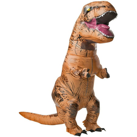 Couples Fancy Dress Costume (Inflatable Dinosaur Costume Adult  Rex Jurassic Halloween Fancy Dress)