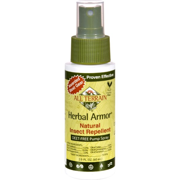 All Terrain Herbal Armor Natural Insect Repellent 2 Fl Oz