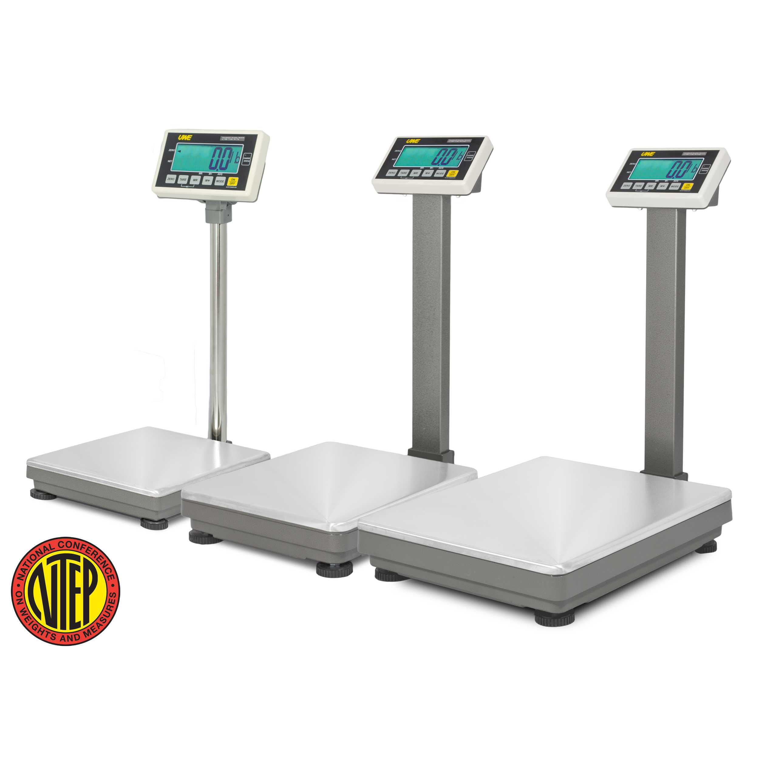 UWE, UFM-B150, Industrial Bench Scale, 300 lb x 0.1 lb, NTEP, Class III