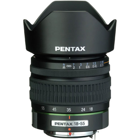 Pentax 18-55mm F3.5-5.6 SMC DA AL Lens 21547