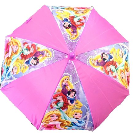 (Licensed Disney Princess Umbrella - Cinderella, Belle, Snow White - Aurora, Cinderella)