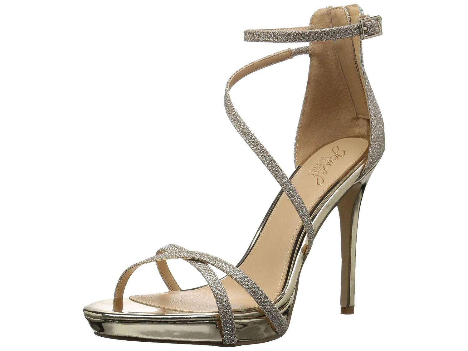 0b16729afa2 Badgley Mischka Womens Galen Open Toe Casual Ankle Strap
