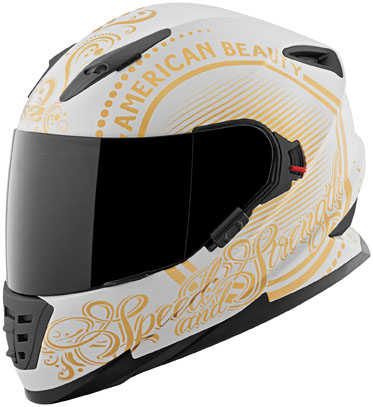 Speed And Strength SS1600 American Beauty Full Face Helme...