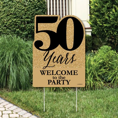 We Still Do - 50th Wedding Anniversary - Party Decorations - Anniversary Party Welcome Yard - Wedding Yard Signs