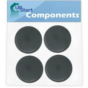 4 Pack UpStart Components Replacement NutriBullet Stay Fresh Resealable Cup Lids for Ninja Nutribullet 900W Blender Cups