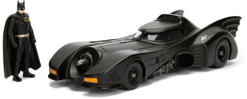 1:24 Batmobile '89 Batmobile w  Batman by Jada Toys